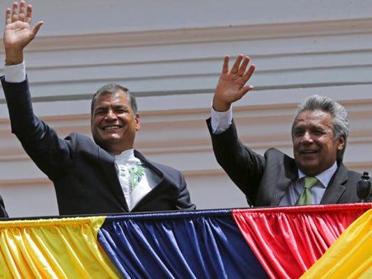 Lenin Moreno, Rafael Correa