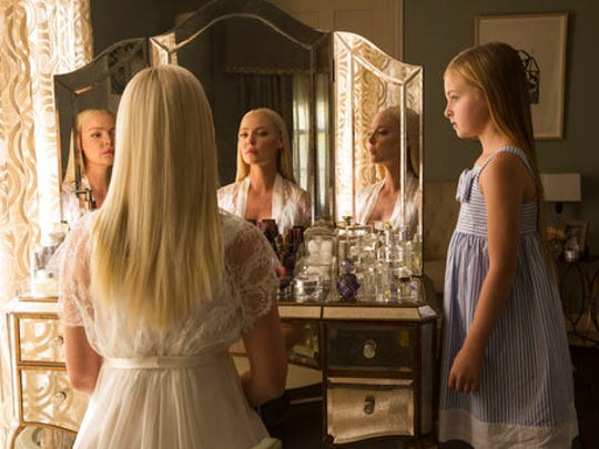 """This image released by Warner Bros. Pictures shows Katherine Heigl, left, and Isabella Kai Rice in a scene from, """"Unforgettable."""""""