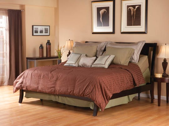 This photo provided by Easy Rest Adjustable Sleep Systems shows one of their adjustable beds.