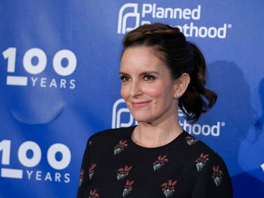 Tina Fey attends the Planned Parenthood 100th Anniversary Gala on Tuesday, May 2, 2017 in New York.