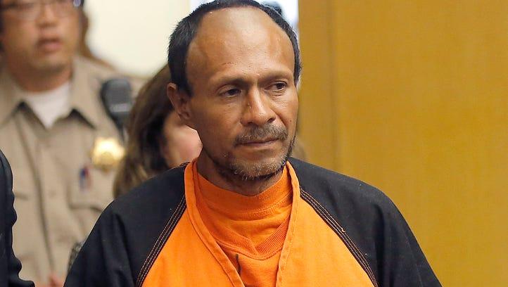 Francisco Sanchez walks into the court for his arraignment