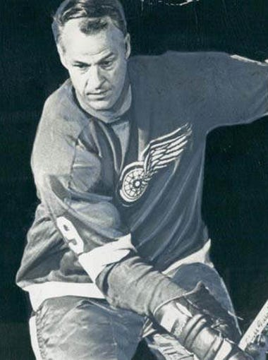 Gordie Howe, Detroit Red Wings 1969-1970.