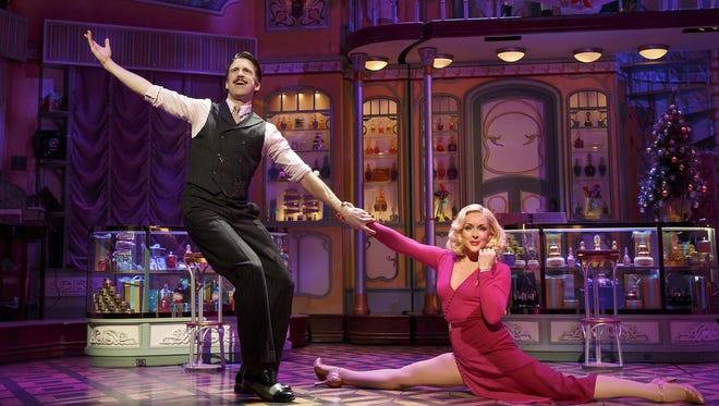 """Gavin Creel and Jane Krakowski in a scene from """"She Loves Me."""""""