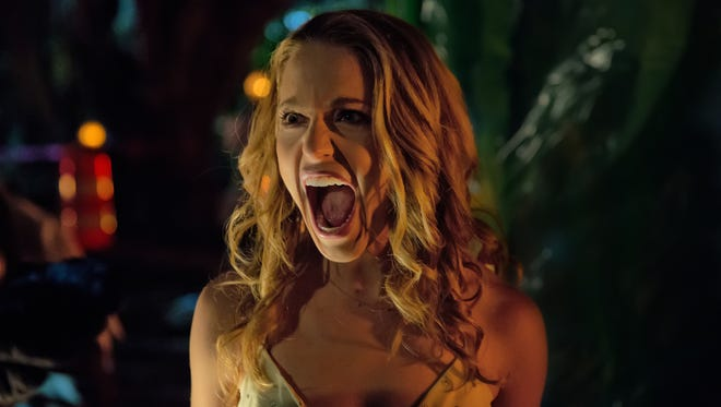 """Blumhouse (""""Split,"""" """"Get Out,"""" """"Whiplash"""") produces an original and inventive rewinding thriller in """"Happy Death Day,"""" in which a college student (JESSICA ROTHE, """"La La Land"""") relives the day of her murder."""