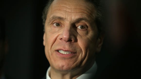 New York Gov. Andrew Cuomo during a recent visit to Rochester.