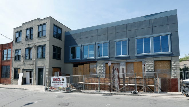 The building at 127 Railroad Street will be home to Bitter Honey and Boxcar Donuts.