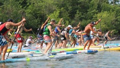 Paddleboarding grows in popularity on Lake Champlain