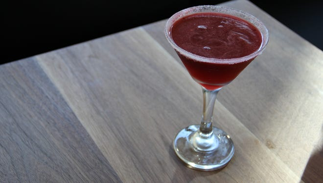 The blackberry lemon drop is made with Sublime Organics berries and Monopolowa Vodka.