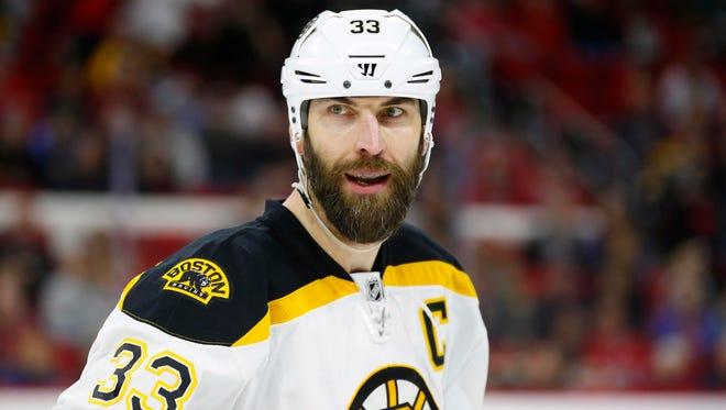 Boston Bruins defensemen Zdeno Chara's best years are behind him.