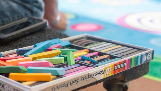 See the Chalk Art Festival where artists will create chalk art on 6-by-6-foot canvas murals so that the art may be kept permanently.