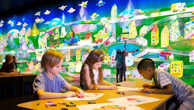 """The """"Future Park"""" exhibit opens this weekend at the Golisano Children's Museum of Naples."""
