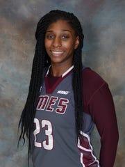 UMES women's basketball player Taryana Kelly