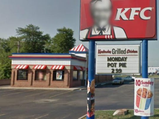 A KFC restaurant on 1217 Dix Road, in Lincoln Park,