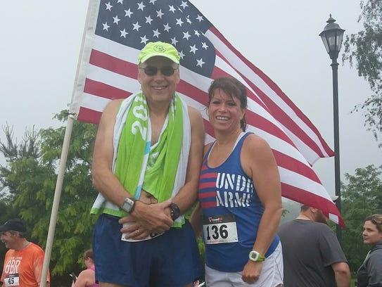 Greencastle's John Economos and Waynesboro's Deb Swope