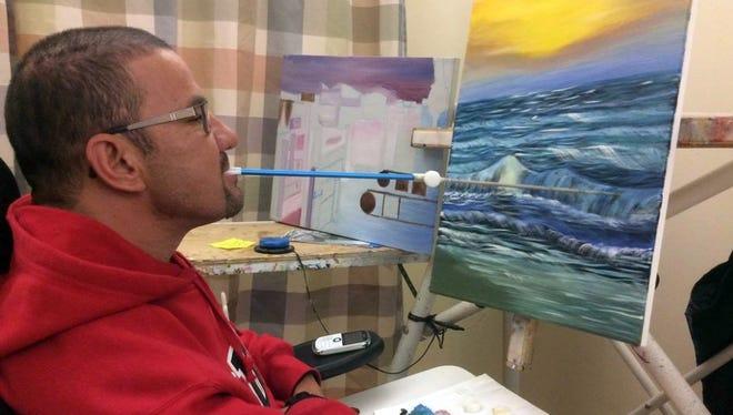 El artista, Jesus Montoya.