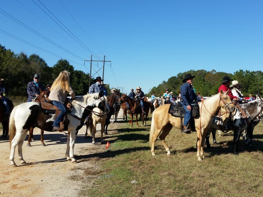 Bogue Chitto State Park offers guided horseback riding thanks to a public private partnership.
