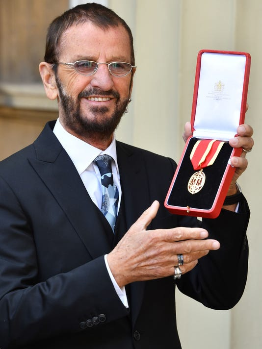 Sir Ringo Starr Former Beatles Drummer Is Finally A Knight