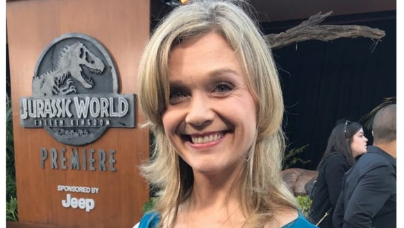 "Ariana Richards attended the ""Jurassic World: Fallen Kingdom"" premiere Tuesday."