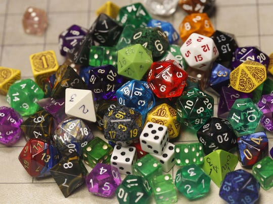 Dice have a huge role in determining playing direction, and a variety are used throughout games of Dungeons and Dragons to determine play.