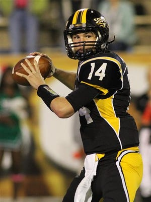 Southern Miss quarterback Nick Mullens