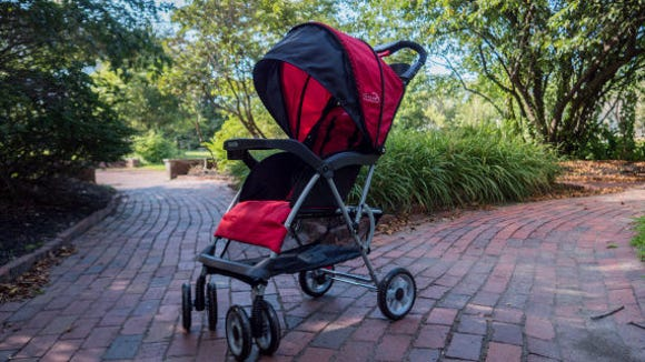 The Kolcraft Cloud Plus is the best lightweight stroller we tested in this roundup.