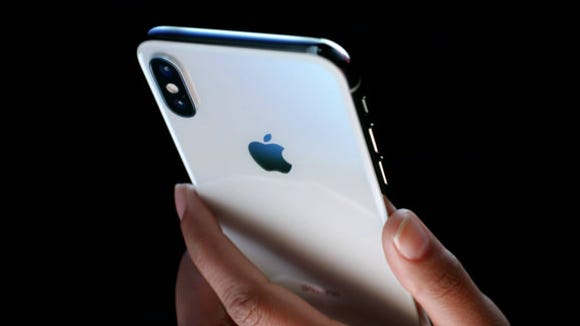 The brand new iPhone X has arrived.