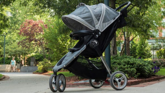 The Babyjogger City Mini is the best stroller we've tested.