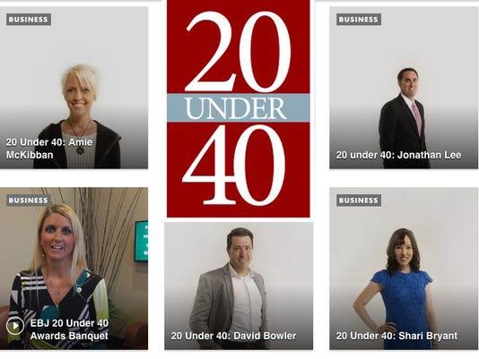 EBJ 20 Under 40 Promo Image