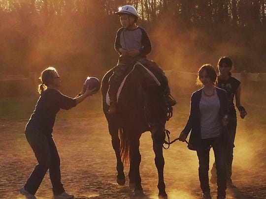 Heads Up Special Riders Inc. is in need of volunteers to assist the children, handle and saddle the horses and walk with the horse and rider during lessons.