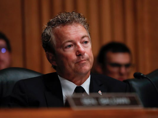 Where Rand Pauls Small Government Credo >> Sen Rand Paul Stays Defiantly Loyal To Libertarian Credo