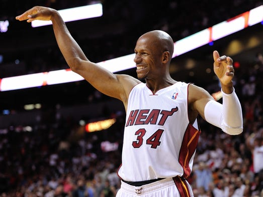 Miami Heat 4 wins from ranks of greatest NBA teams ever Ray Allen Heat