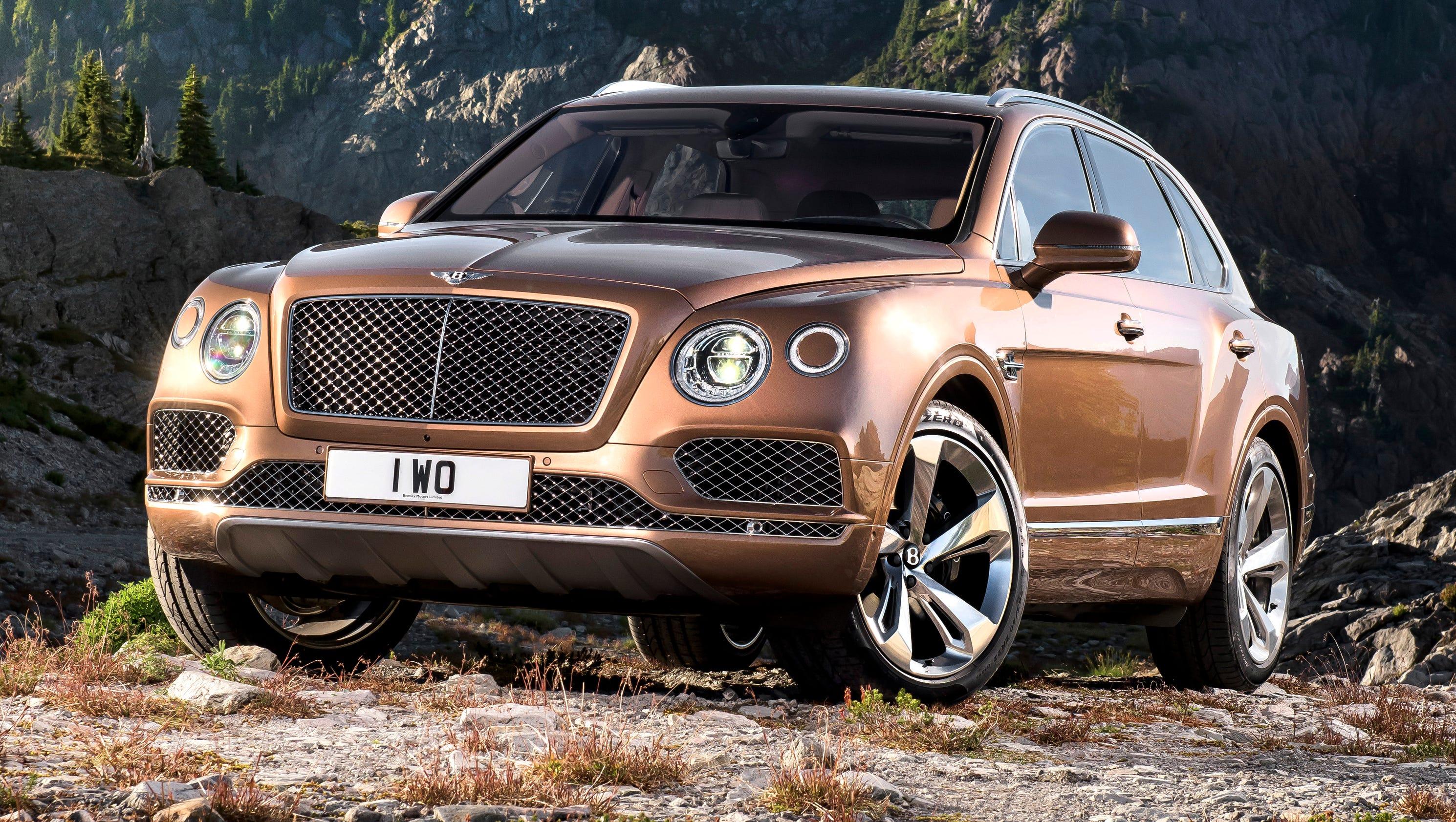 Bentley Prices Bentayga Suv Way Above 200k