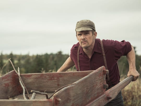 """Ethan Hawke as Everett Lewis in a scene from """"Maudie."""""""