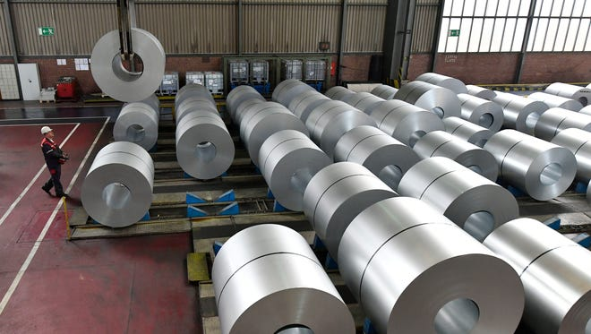 Steel coils in Germany