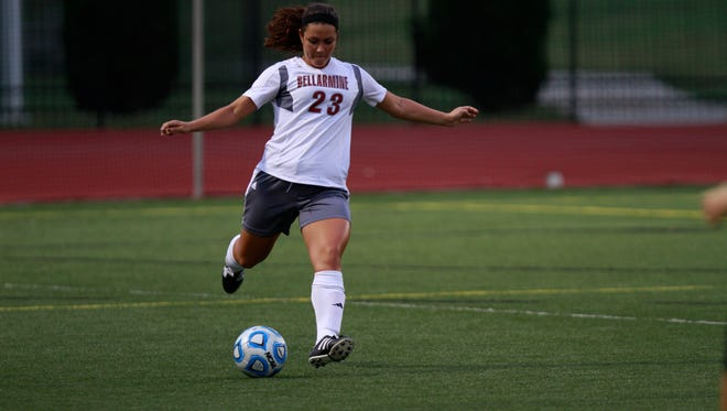 Jordan Major dribbles up field during a Sept. 9 match at Owsley Brown Frazier Stadium.