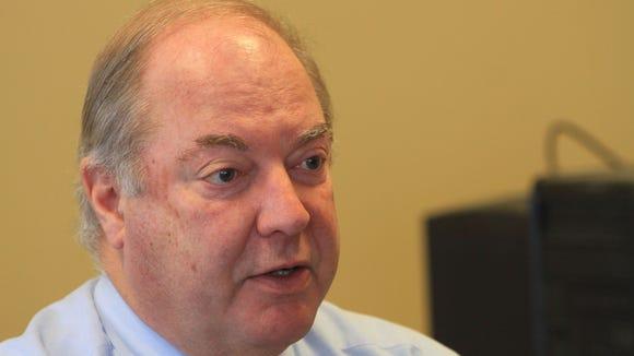 Former Rockland County Executive C. Scott Vanderhoef.