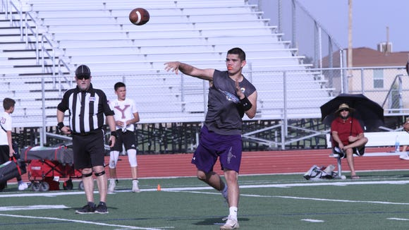Eastlake quarterback Keith Tarango-Lopez.