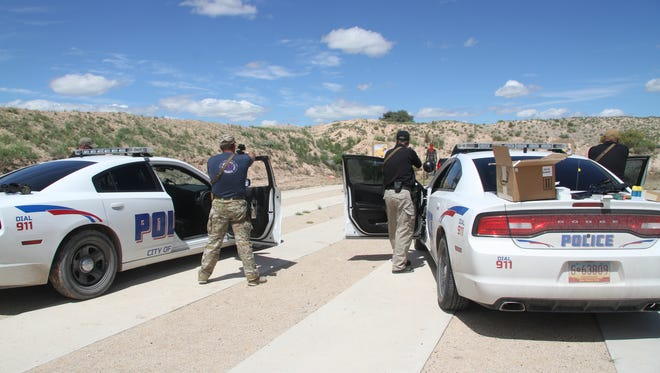 Officers who will operate the launcher were trained Thursday on handling the weapon.
