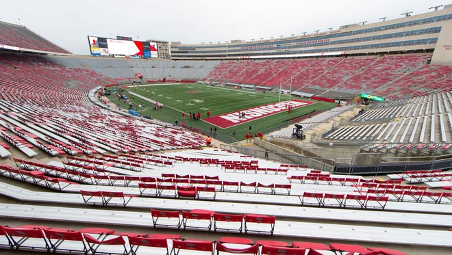 Wisconsin is revising some of its policies for Camp Randall Stadium.