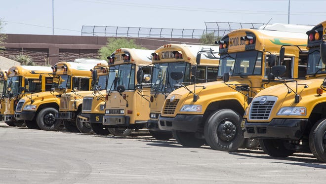 Capital funding pays for things such as building repairs, school buses, textbooks, furniture and classroom technology.