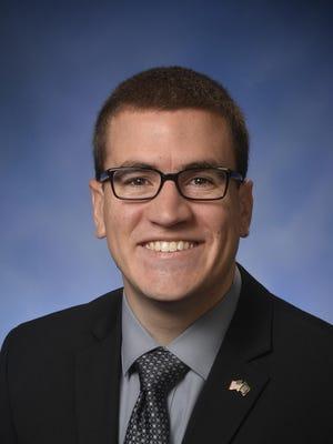 Michigan State Rep. Aaron Miller, R-Sturgis