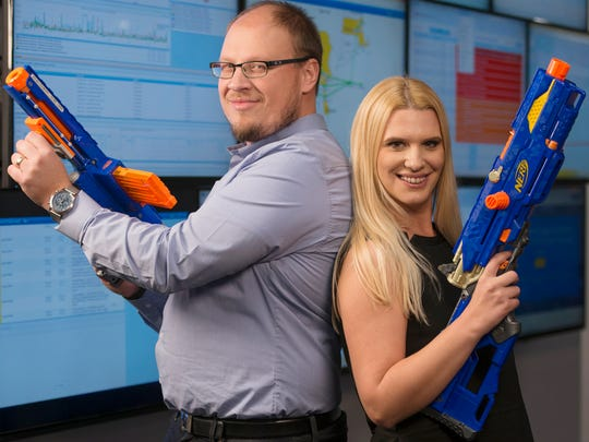 Vess and Tanya Bakalov started SevOne, they will be featured in the 2015 Small Business Innovator Of The Year