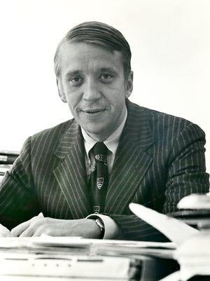 Bucks' President Bill Alverson. October 28, 1976