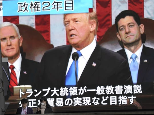 Japan US State of Union