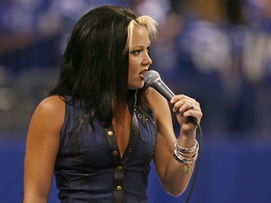 Amanda Overmyer, 2008.