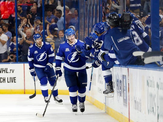 Lightning Rally Past Capitals In Overtime