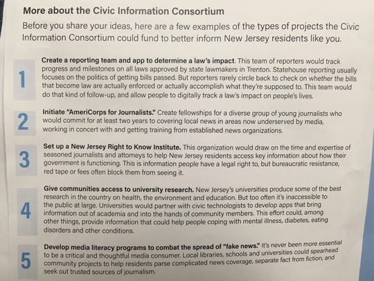 Some ideas that Free Press put forth for the proposed