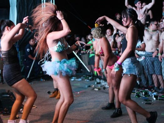 The fourth annual Electric Island Festival brought