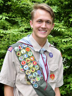 Max Reed of Corning recently attained his Eagle Scout rank.