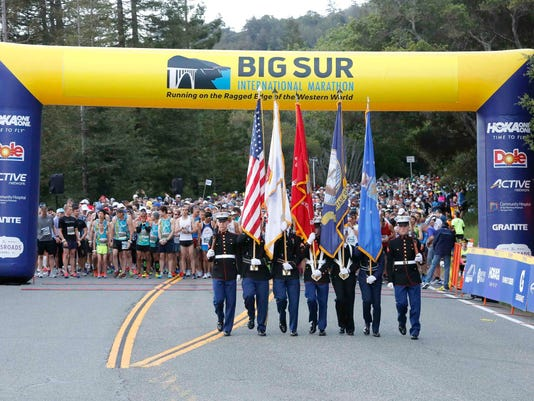 33rd annual Big Sur International Marathon
